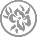 Flower in Ring Ornament Gray R.png