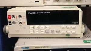 Fluke Corporation - Image: Fluke 45