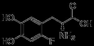 Fluorodopa - Image: Fluorodopa