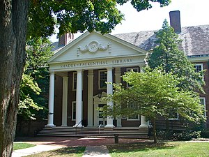 Franklin & Marshall College - Shadek-Fackenthal Library (1934-35), the youngest building in the district