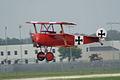 Fokker Dr.I Manfred Richthofen Takeoff 04 Dawn Patrol NMUSAF 26Sept09 (14413494567).jpg