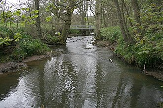 River Dove, North Yorkshire - Image: Footbridge Over the River Dove geograph.org.uk 409849