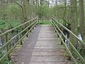 Footbridge over Lampen Stream to Marsh Hide - geograph.org.uk - 1251067.jpg