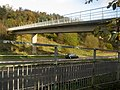 Footbridge over the A61 - geograph.org.uk - 278043.jpg