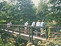 Footbridge over the Bollin at Thorns Green - geograph.org.uk - 1124752.jpg