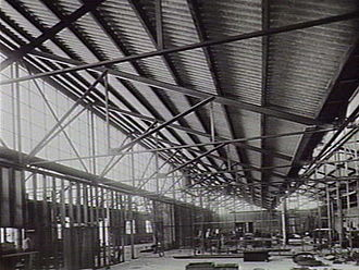 Ford Australia - The Ford Australia plant under construction in Geelong, 1926.