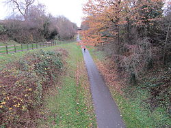 Former Chester and Connah's Quay railway line at Blacon (1).JPG
