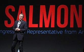 Matt Salmon - Salmon speaking at FreePac, hosted by FreedomWorks, in Phoenix, Arizona