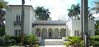 National Register of Historic Places listings in Lee County, Florida - Image: Fort Myers FL Alderman House pano 01