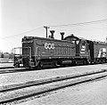 Fort Worth and Denver City, Diesel Electric Switcher Locomotive No. 606 (15901204630).jpg