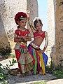 Fort de Galle-Séance de pose pour les élèves d'une école de danse (3).jpg