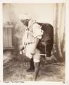 Fotografi från Tanger på vattenförsäljare, Marocko, 1800-tal - Hallwylska museet - 107256.tif