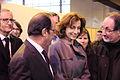 François Hollande et Audrey Azoulay à Livre Paris (25746283731) (2).jpg