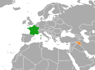 Diplomatic relations between the French Republic and Kurdistan Region