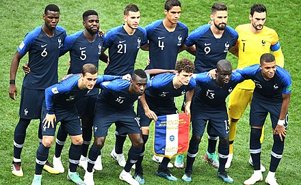 Equipe De France De Football En 2018 Wikipedia