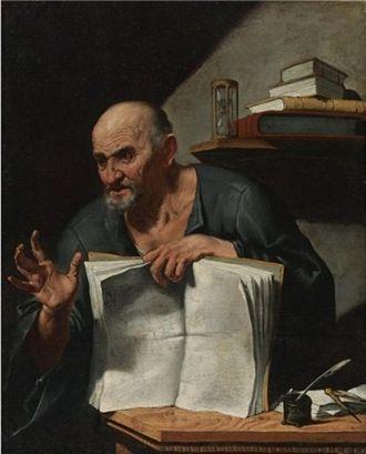 Francesco Fracanzano - Portrait of Dionysius Cato