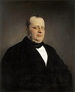 Count Camilo di Cavour, the first Italian Prime Minister and leader of monarchist unification in Northern Italy