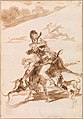 Francisco de Goya - Dogs Chasing a Cat on a Man on a Donkey - BF689.1 - Barnes Foundation.jpg