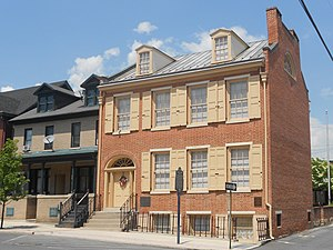 National Register of Historic Places listings in Mifflin County, Pennsylvania - Image: Frank Mc Coy House Lewistown PA