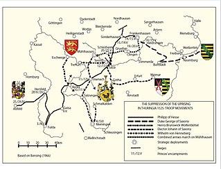 Battle of Frankenhausen battle