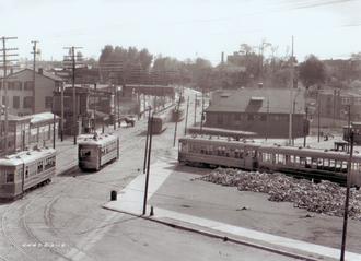 Frankford Transportation Center - Image: Frankford 1918
