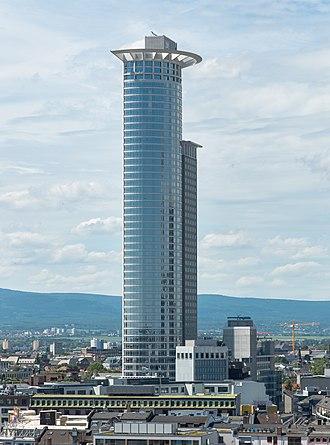 Westendstrasse 1 - Image: Frankfurt Westend Tower.Süd.20130616