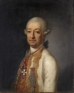 Franz de Paula Ulrich, 3rd Prince Kinsky of Wchinitz and Tettau Austrian general and prince