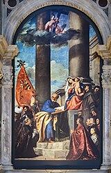 Tiziano Vecellio: Pala Pesaro