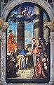 Frari (Venice) nave left - Altar of Madona di Ca'Pesaro.jpg