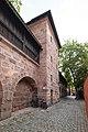 Frauentormauer 7, Mauerturm Blaues V Nürnberg 20180723 002.jpg