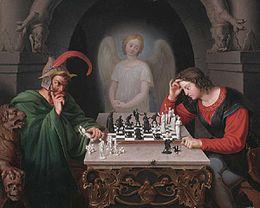 Die Schachspieler (The Chess Players) (Source: Wikimedia)