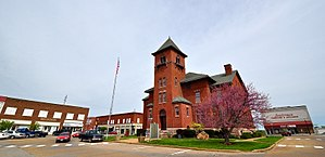 National Register of Historic Places listings in Madison County, Missouri - Image: Fredericktown Courthouse Square Historic District