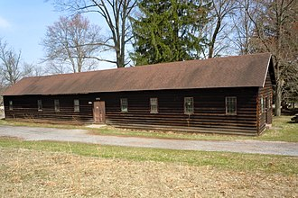 French Creek State Park - CCC barracks near the park office