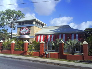 T.G.I. Friday's - A T.G.I. Fridays in Christ Church, Barbados.