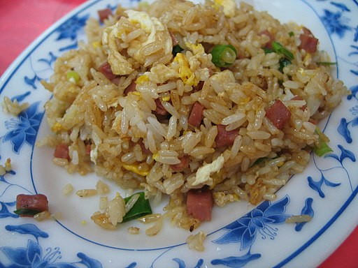Fried rice by Adonis Chen in Keelung, Taiwan