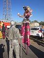 Fringe 2012 Plessy Park Stilt Horse 1.JPG