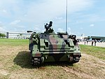 Front View of ROCMC CM-25 TOW Launcher Display at Gangshan Air Force Base 20170812.jpg