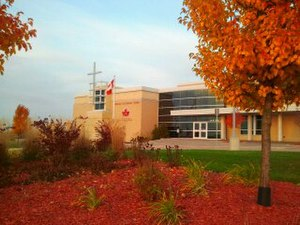 London District Catholic School Board - Image: Front of the LDCSB office