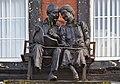 Frontage statues, Oriel & Hardie House.jpg
