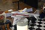 Frontiers of Flight Museum December 2015 115 (TACA Douglas DC-3 model).jpg
