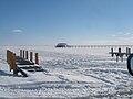 Frozen Lake St Clair.JPG