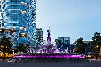 Diana the Huntress Fountain - The fountain in 2013