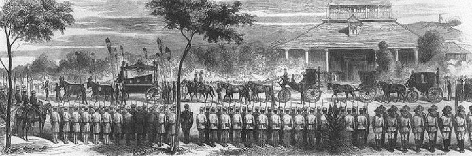 Funeral of Kamehameha III