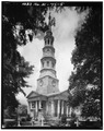 GENERAL VIEW - St. Philip's Protestant Episcopal Church, 146 Church Street, Charleston, Charleston County, SC HABS SC,10-CHAR,58-5.tif