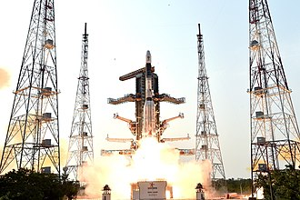 Satish Dhawan Space Centre - Image: GSLV F08 Liftoff 4