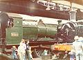 GWR 2-6-0 5322 & 0-6-0PT prob. 3738, GWS Didcot 30.08.1976 (9940082706).jpg
