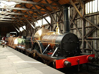 GWR Firefly Class - GWR Firefly replica at Didcot Railway Centre