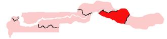Janjanbureh (Gambia) - Location of the Janjanbureh Local Government Area in the Gambia