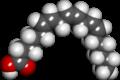 Gamma linolenic acid spacefill.png