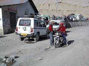 Kaza, Himachal Pradesh - Downtown Kaza, 2004